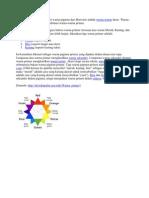 Warna Primer Menurut Teori Warna Pigmen Dari Brewster Adalah Warna