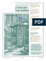 Managing Trees and Shrubs in Your Habitat