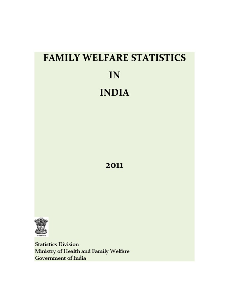 972971120FW Statistics 2011 Revised 31 10 11 | Family