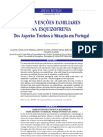 int fam na esquizofrenia panorama português