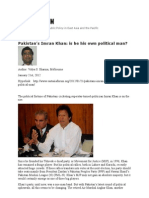 Pakistan's Imran Khan is he his own political man EAF final post 220112