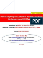 Presentation on MCR Type SVC supplied by EAGLE TECHNOLOGY in India