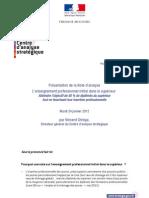2012 01 24 Enseignement Professionnel Superieur Edl v.chriqui