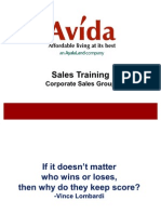 Comprehensive Sales Training for ASG
