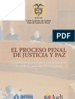 Libro Proceso Penal Justicia y Paz I