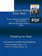 Subjects Matter Book Walk