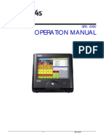 Sam4s SPS-2000 Operation Manual