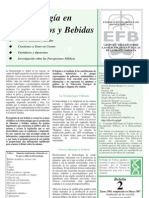 Biotechnology in Foods and Drinks Spanish