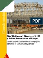 Brochure Sika Unitherm Sikacrete