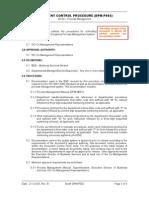 DPM-P002document Control Procedure