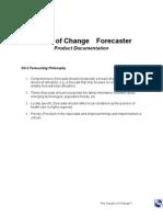 impact of change forecaster documentation