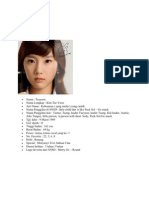 SNSD Profile