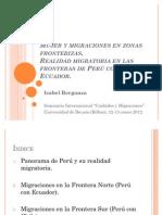 Mujer y Migraciones en Zonas Fronterizas2