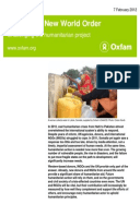 Crises in a New World Order: Challenging the humanitarian project