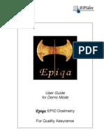 Epiqa Demo Manual Version 2.2.1 Final