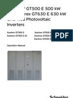 Solarni Invertori Na Schneider Seriq GT