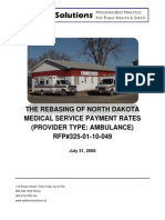 STS-ND Ambulance Rebasing Report 2008 FINAL 7-31-2008