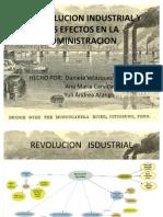 La Revolucion Industrial y Sus Efectos en La