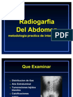 Radiografia de Abdomen