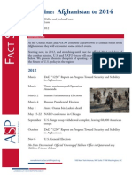 Ref 0044 - Factsheet - Afghanistan Timeline to 2014