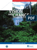 Revised Vision and Change Final Report