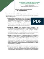 COMUNICADO TEMAS VARIOS-01.24.12