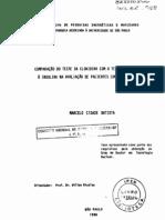 Comparação do teste de clonidina com tti