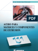 Acero Matrices Extrusion Spanish