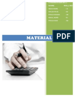 Material Cost Doc