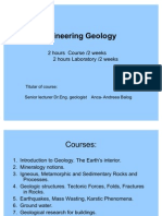 Lecture 1 - Geology