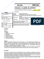 NBR_9441-2005 - Sistema de Detecção e alarme de Incêndio
