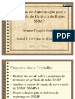 Apresentação da Tese de Mestrado - Mauro Tapajós Santos