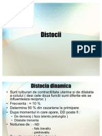 Distocii dinamica, RU