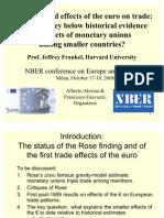 EuroTradec-NBER-Milan