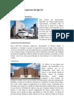 Panorámica de la arquitectura del siglo XX
