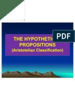 Hypothetical Proposition (1)