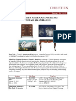 Christie's Americana Week 2012 Totals $24.8 Million