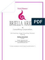 Briella Arion Meal Planner