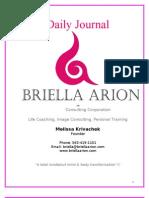 Briella Arion Daily Journal