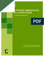 Proceso Administrativo de La Capacitacion