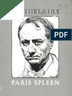 Baudelaire Charles - Paris Spleen - 1876
