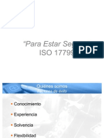 Security ISO 17799