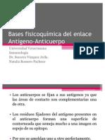 Bases fisicoquímica del enlace Antígeno-Anticuerpo