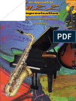 Jazz - An Approach to Jazz Improvisation - BOOK CD