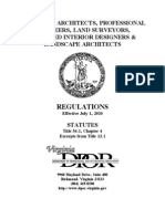 DPOR Board Regulations