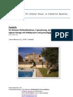 Immobilie Cambrils Haus Ferienhaus Casa Vilafortuny