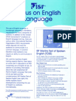 Marlins English Language Test & TOSE