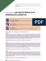 Padilla Douglas y Lopez Competencias argumentativas en la alfabetización académica