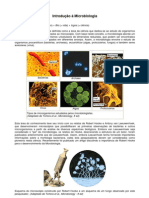 INTRODUÇÃO Á MICROBIOLOGIA