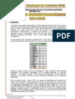 INFORME PRECIPITACIONES 2011-2012  Nº 058 - 24ENE 20121